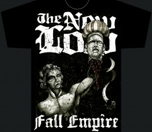 the new low fall empire 300x262 The New Low t shirts illustration  The New Low T shirts Frontpage Bands