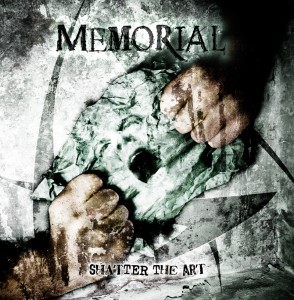 final pre 294x300 Memorial Shatter The Art covers  Memorial Frontpage Cover Bands